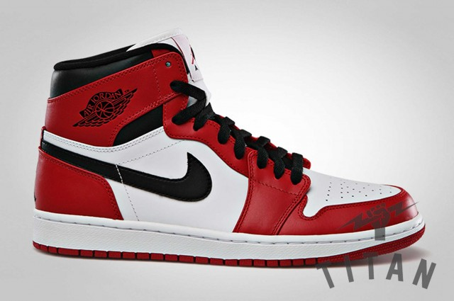 Dropping tomorrow at Titan stores is Michael Jordan s 1st ever signature  sneaker from the Jordan Brand coming in its original Chicago Bulls colorway  ... e675c9865