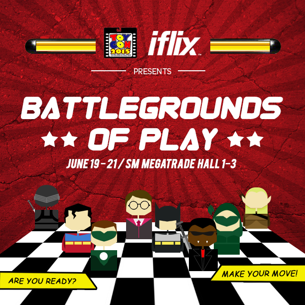 IFLIX brings the entertainment revolution to TOYCON 2015