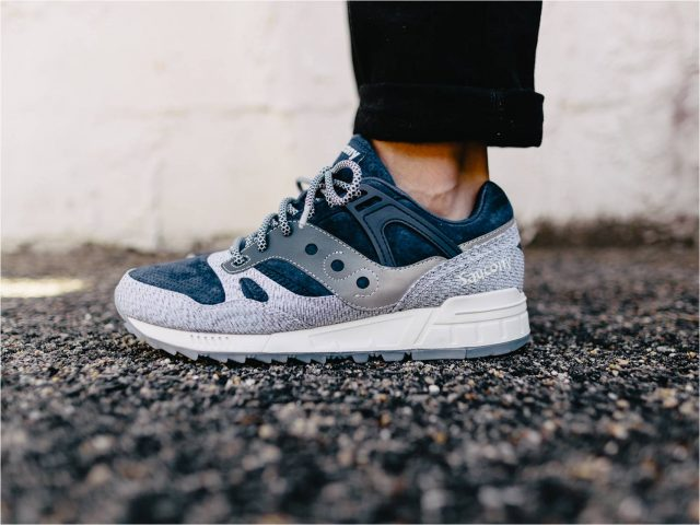 online store 001ef 9dc81 It has the signature Saucony triangular lug outsole done in semitransparent  rubber which provides traction and durability. The Grid SD ...