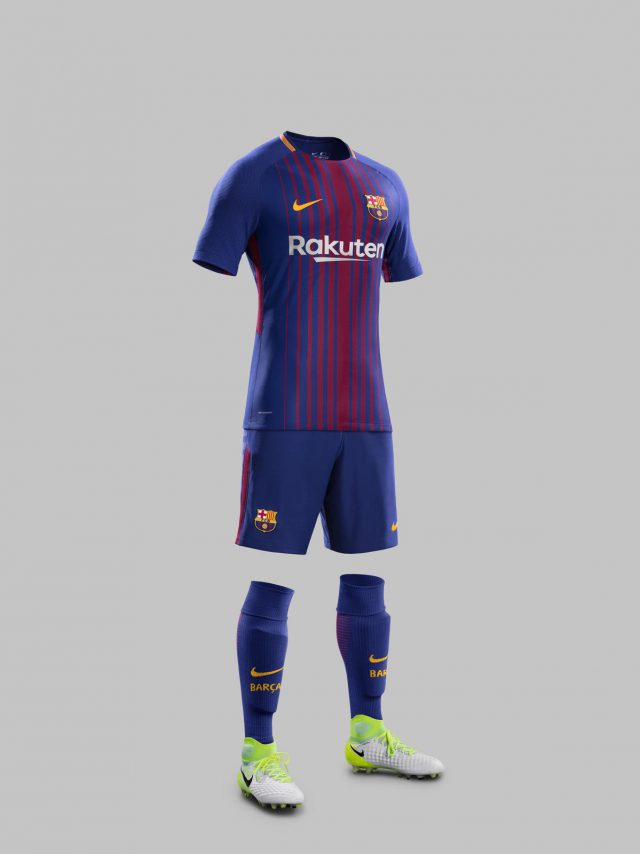 50877473a The FC Barcelona home kit will be available from June 1 at Nike.com FCB