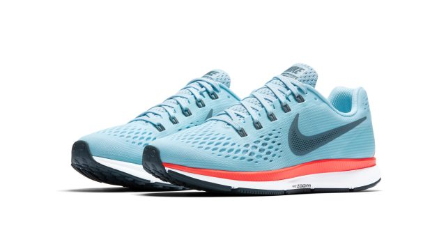 The Nike Air Zoom Pegasus 34 is available at Nike stores at PHP5795 SRP